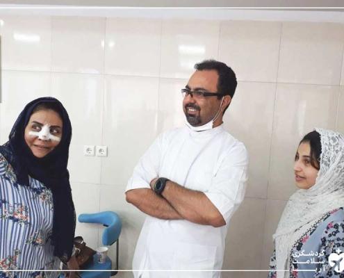 خواهران عرب در مطب دندانپزشک ایرانی
