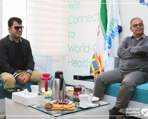 گردشگران خارجی در ایران برای درمان