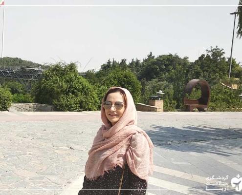 زن هلندی در ایران