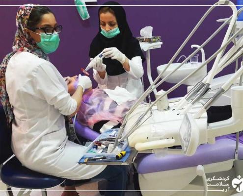 سفر توریست سوئدی به تهران برای دندانپزشکی
