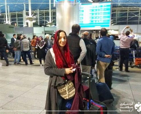 سفر گردشگر خارجی به ایران برای عمل بینی