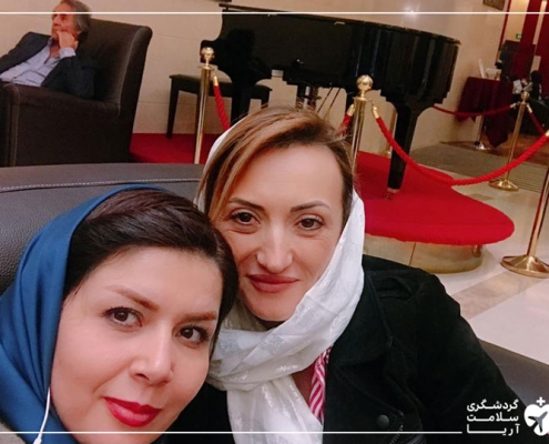 بیمار خارجی در تهران