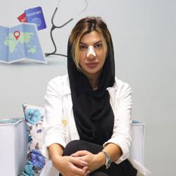 عمل بینی گردشگر سلامت از رومانی در ایران