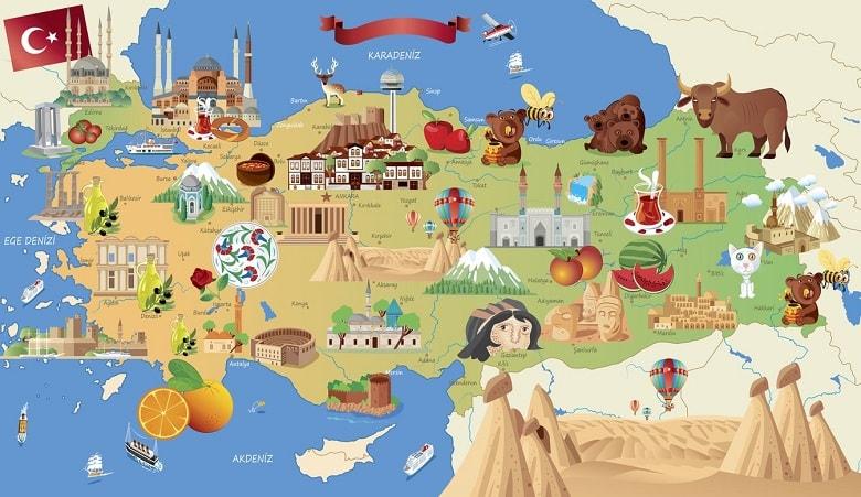 تسهیلات گردشگری ترکیه