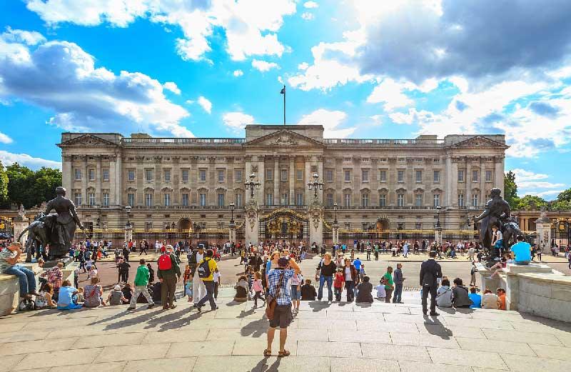 کاخ باکینگهام - لندن