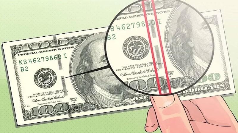 نوار امنیتی دلار