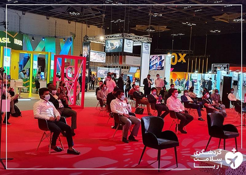 بازدیدکنندگان نمایشگاه جیتکس 2020 دبی