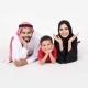 تصویری از یک خانواده عرب