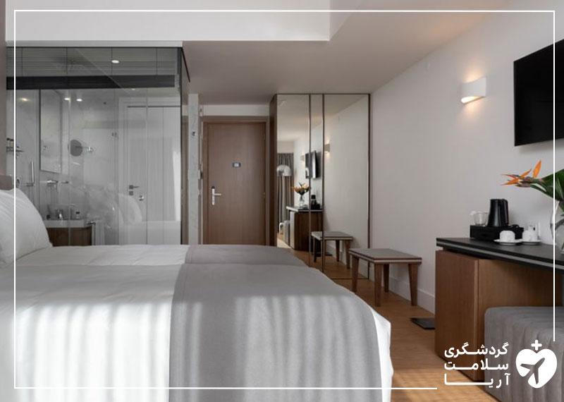 اتاق استاندارد هتل
