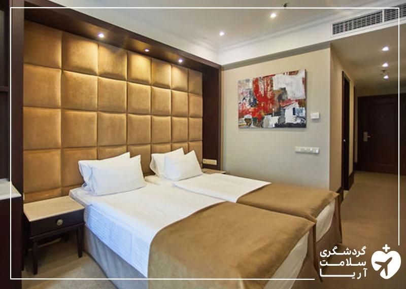 اتاق تویین هتل