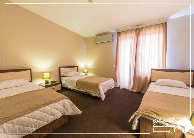 اتاق سه نفره تریپل هتل
