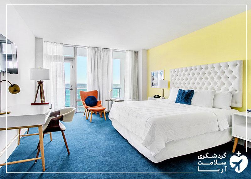 اتاق کویین هتل