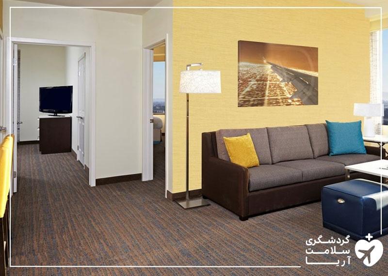 سوییت دوخوابه هتل