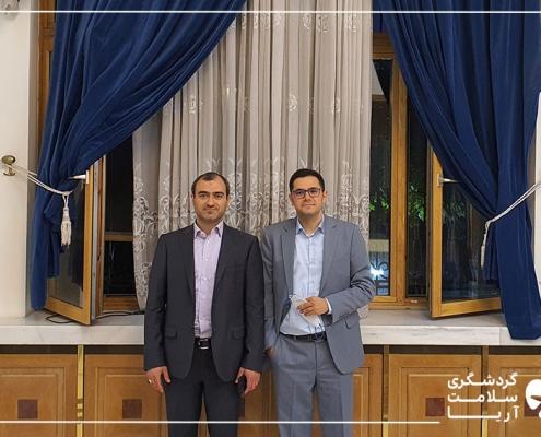 محمد نصری و دکتر بیرنگ