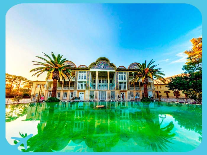 eram garden shiraz tourist attraction