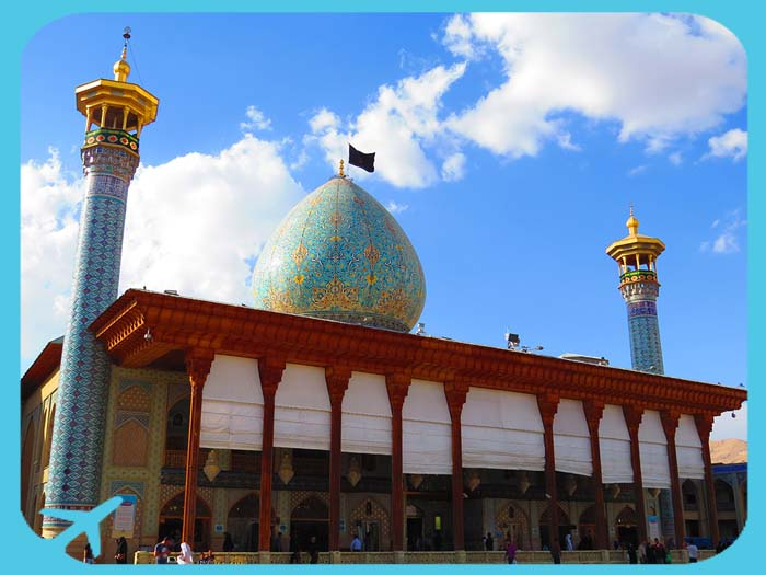 shah cheragh - day view