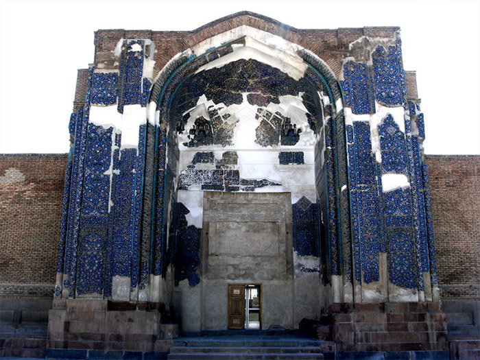 blue mosque in Tabriz east Azerbaijan