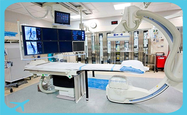 advanced medical facilities in Iran in Erfan hospital