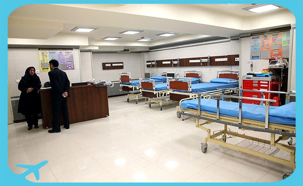 Gandhi hospital units equipped with modern facilities