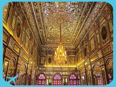Golestan palace in Tehran