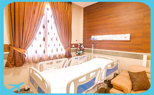 hospital rooms with facilities and furniture Iran