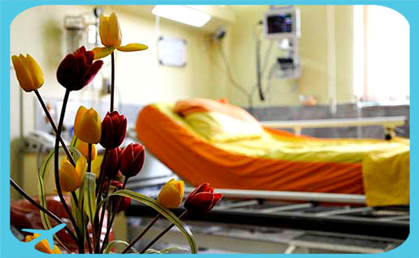 hospital beds in Iran