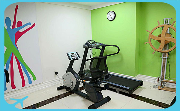 physiotherapy facilities for patients in Nikan hospital tehran