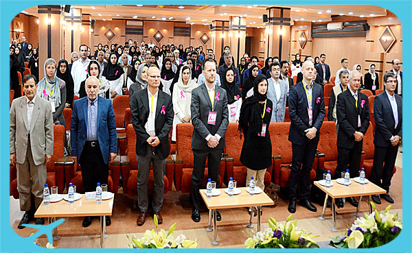 cancer conference held in Razavi hospital with best doctors and researchers