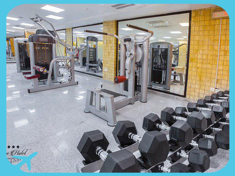 body building hall in toos hotel mashhad iran