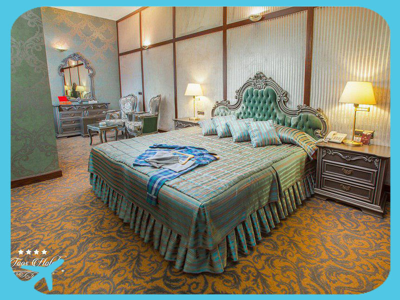 toos hotel rooms with iranian design and furniture