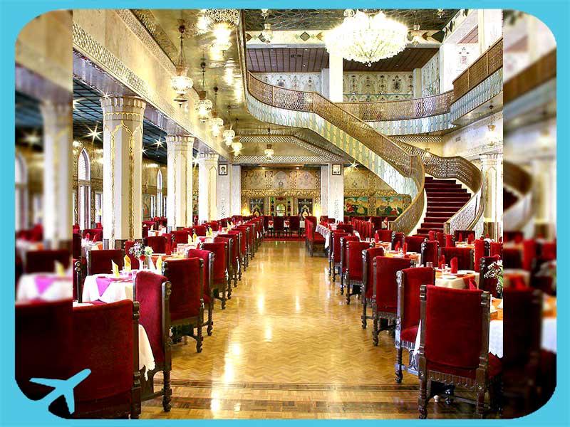 abbsi restaurant in abbasi hotel isfahan