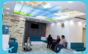 iranian patients sitting in razi clinic in tehran