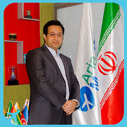 Dr boromand Iranian nose surgeon in AriaMedTour office