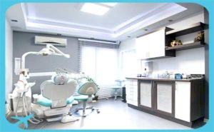 modern dental clinic in iran