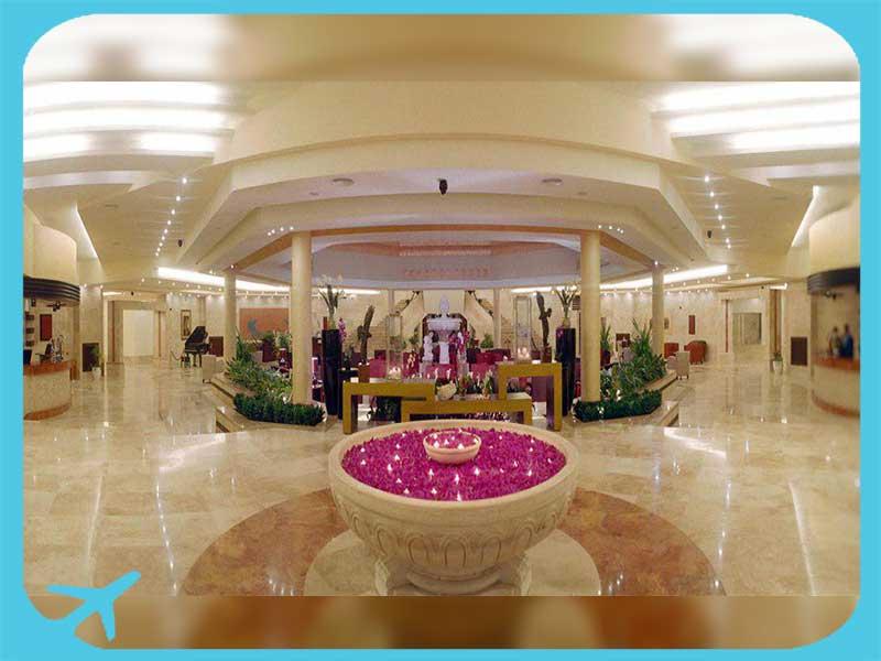 hotel reception in marina park hotel iran tehran