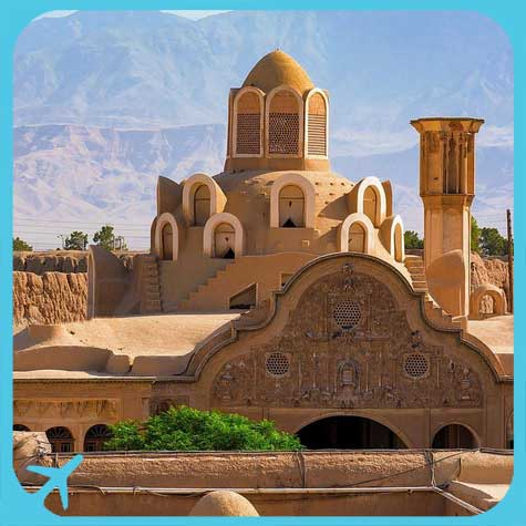 kashan architecture manifested in borujerdi house