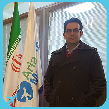 iranian dentist at ariamedtour office