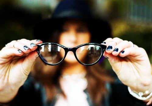 glasses after Rhinoplasty