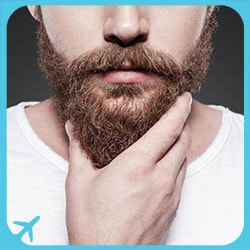 facial hair transplant in Iran