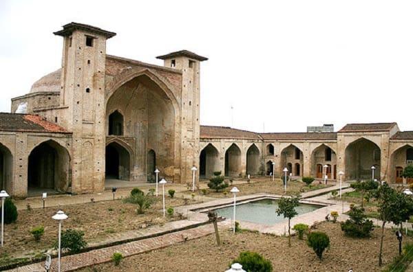 farah abad north of iran