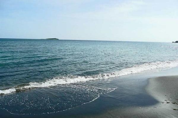 Caspian sea in north of Iran