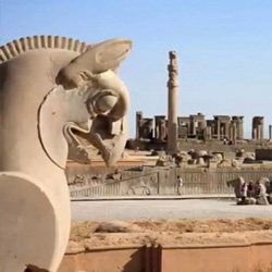 Persepolis shiraz tourist attraction