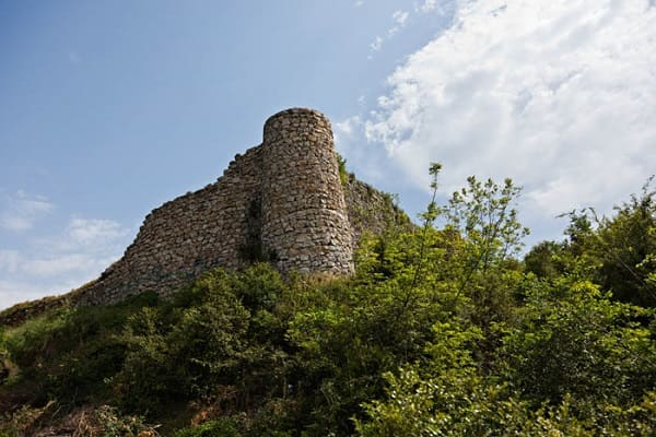 markuh castle in north of iran