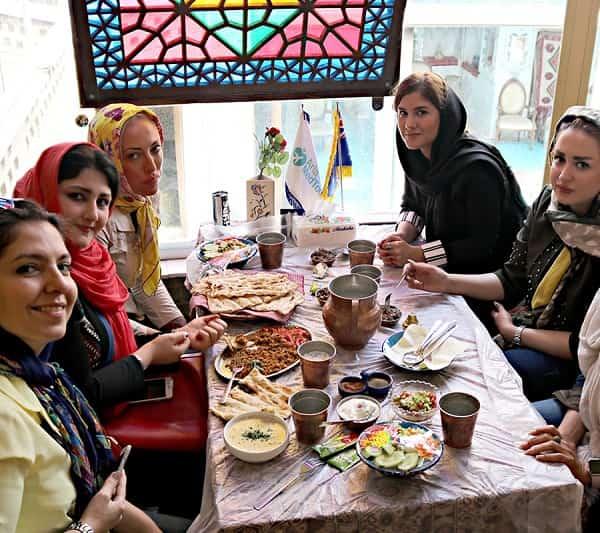 woman travel to Iran