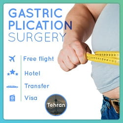 gastric plication package in Iran