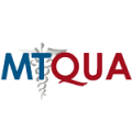 logo of MTQUA in blue and red colors
