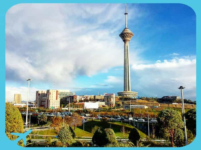 milad tower day view