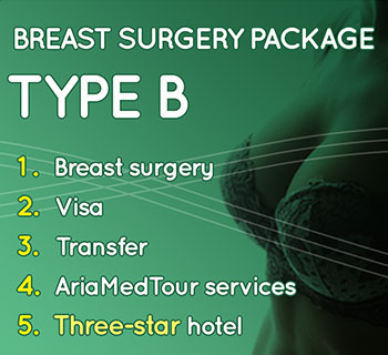 breast augmention package type B