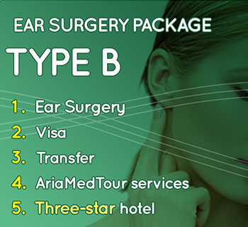 ear surgery pakage type B