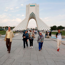 azadi tower Tehran tourist attractions